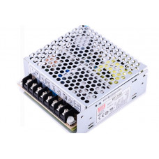 RT-50D Mean Well SMPS (5V 3A), (24V 1A) and (12V 1A) - 51W Triple Output Metal Power Supply