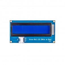 SeeedStudio Grove 16×2 LCD Display (White on Blue)