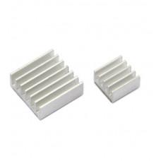 Set of Aluminum Heatsink for Raspberry Pi (Large and Small)
