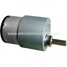 10 RPM Side Shaft DC Geared Motor