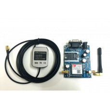 SIM808 GSM/GPRS/GPS Module (Modem) with GPS and GSM Antenna