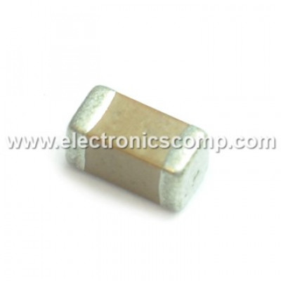 100pF (0.1nF) 50V Capacitor - 0805 SMD Package - 10 Pieces