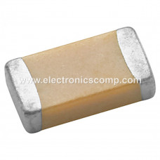820pF (0.82nF) 50V Capacitor - 1206 SMD Package - 10 Pieces