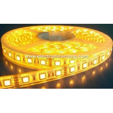 Non Waterproof 5050 Yellow SMD LED Strip - 5 Meter