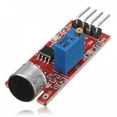 Sound Detection Sensor Module for Intelligent Vehicle Arduino Compatible