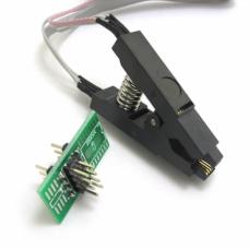 SPI BIOS FLASH Non-Dismantling Test Program Clip SOP8 24C 93C 25LF