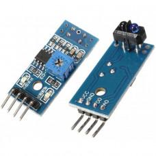 TCRT5000 Dual Channel Line Tracking Sensor Module