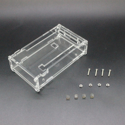 Transparent Acrylic Glossy Case Enclosure Box For Arduino Mega 2560 R3