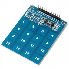 TTP229 - 16 Channel Capacitive Touch Sensor Module