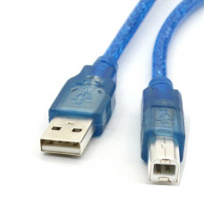 USB A To B Cable - Cable for Arduino - Blue Color