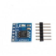 W25Q64 Storage 64Mbit 8MByte Data Flash module SPI Interface BV/FVinter
