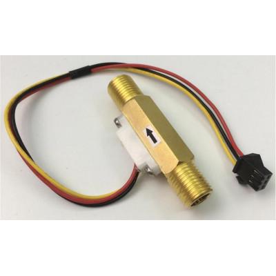 1/4 inch Brass Water Flow Sensor - SEN-HZ41WC