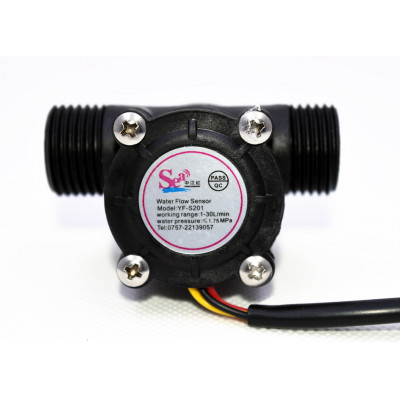 1/2 inch Water Flow Sensor - YF-S201