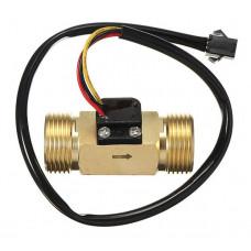 3/4 inch Brass Water Flow Sensor - SEN-HZ43WB