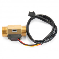 1/2 inch Brass Water Flow Sensor - SEN-HZ21WI