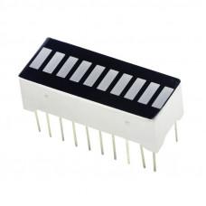 10 Segment LED Bar Graph Display - White Color