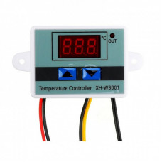 XH-W3001 24V DC 240W Digital Temperature Controller Microcomputer Thermostat Switch