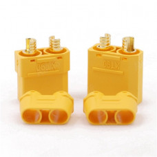 XT90 Male-Female Connector pair with Housing
